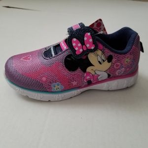 Toddler Girl Minnie Mouse Light Up Sneaker